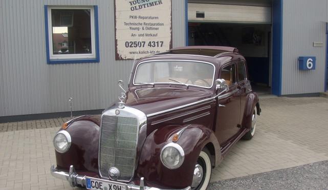 Mercedes 220 Typ 168 Baujahr 1952
